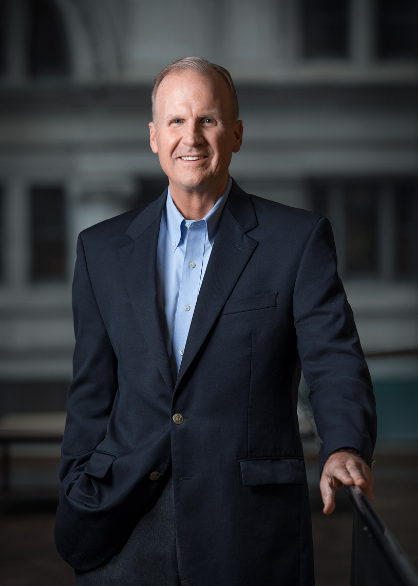 Bill Blase AT&T Senior Executive VP of HR Poul Ober Portrait Photography