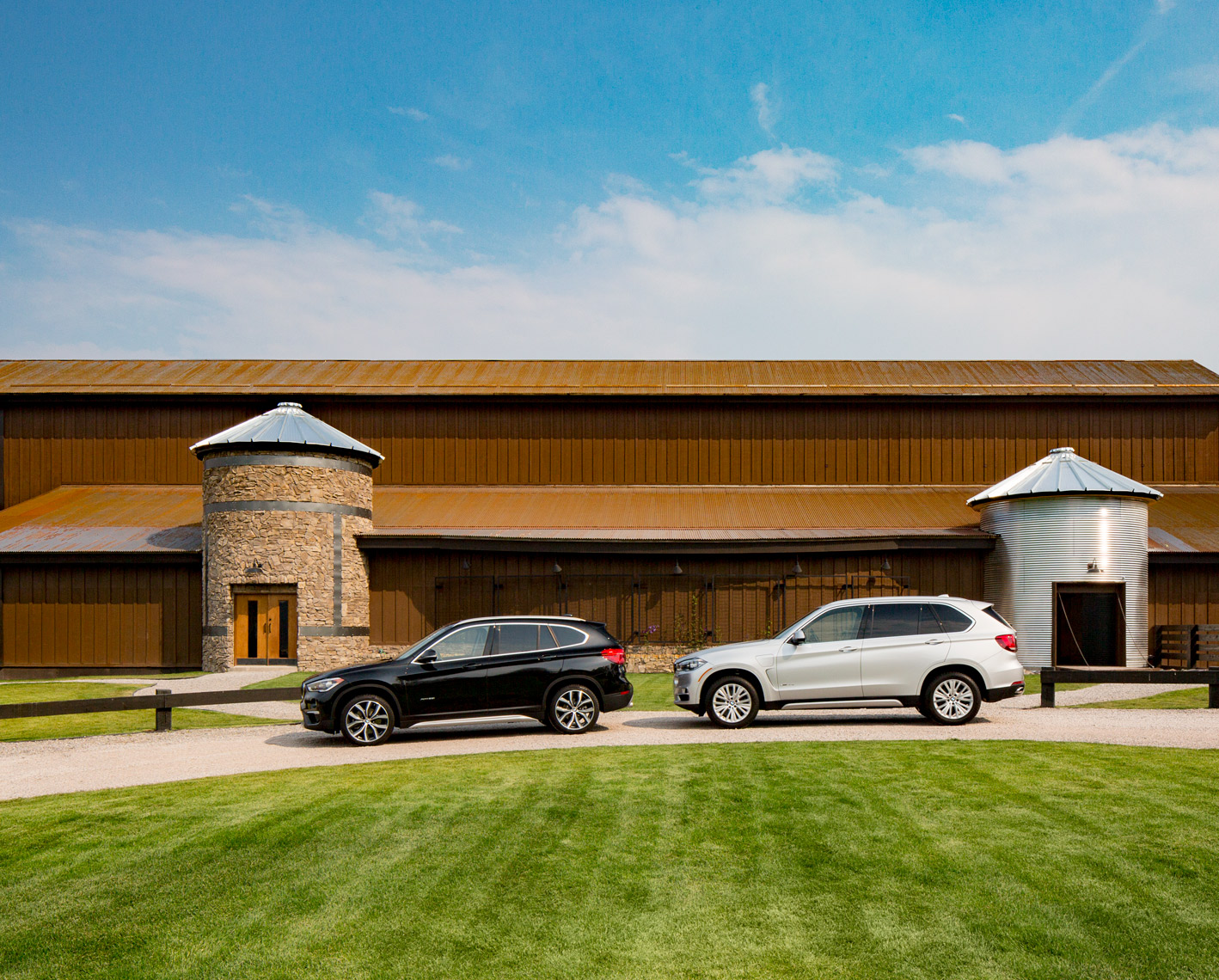 BMW X5 & X3 The Resort at Paws Up  Montana Poul Ober Photography